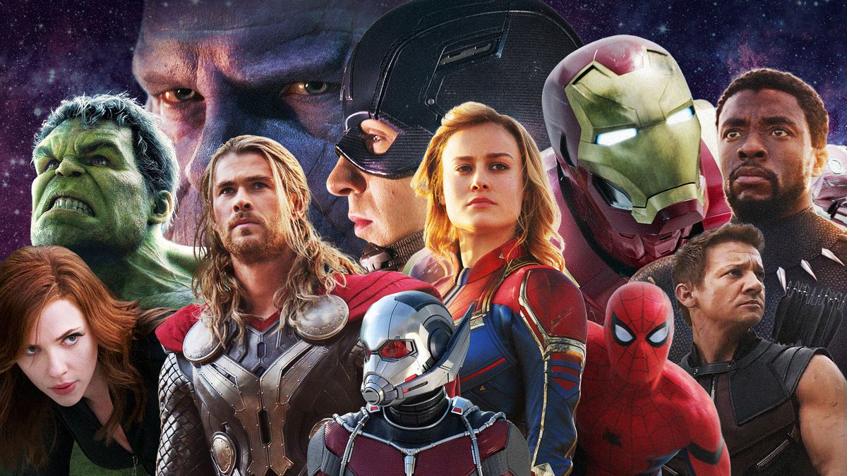 the marvel movies from iron man to avengers: endgame