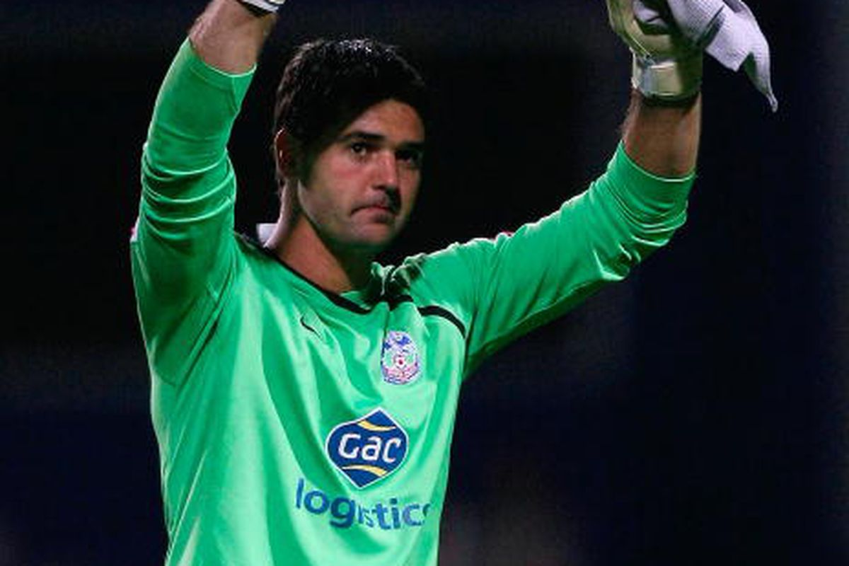 Julian Speroni of Crystal Palace . Photo via Getty Images
