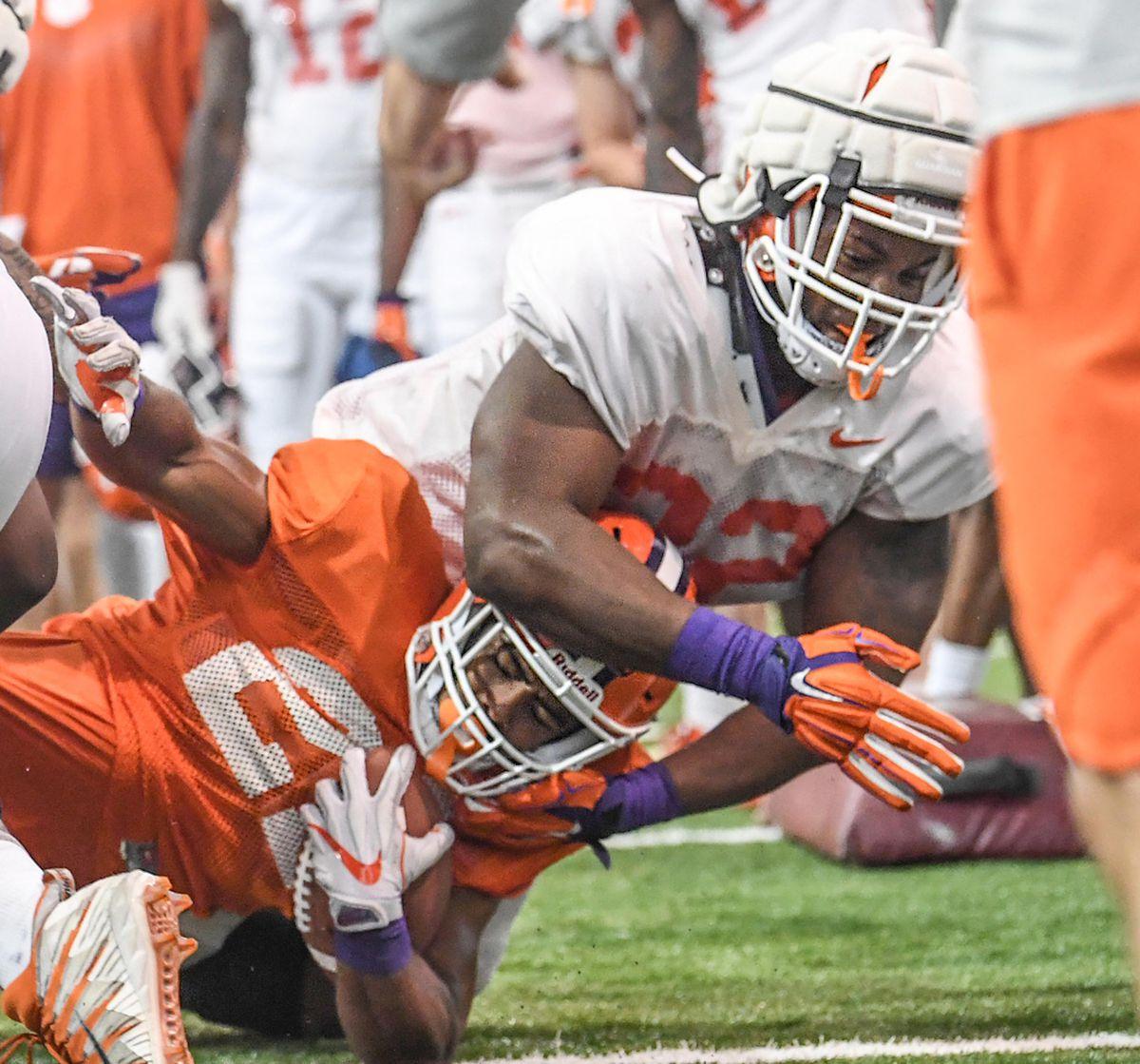 NCAA Football: Clemson Practice