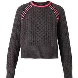"""T by Alexander Wang merino blend pullover, <a href=""""http://www.alexanderwang.com/us/shop/women/tops-top-merino-blend-pullover-with-rib-detail_cod37599541wa.html"""">$425</a>"""