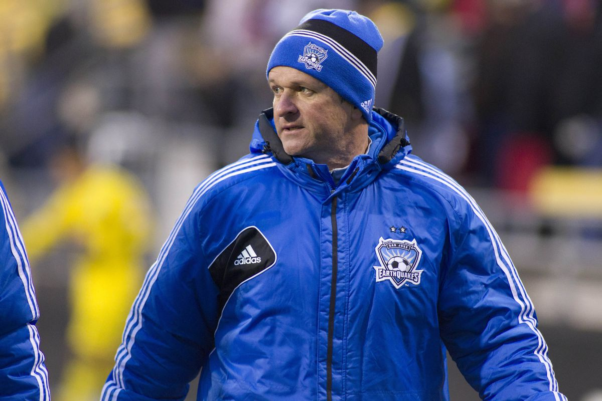The former San Jose head coach is on his way to Cascadia