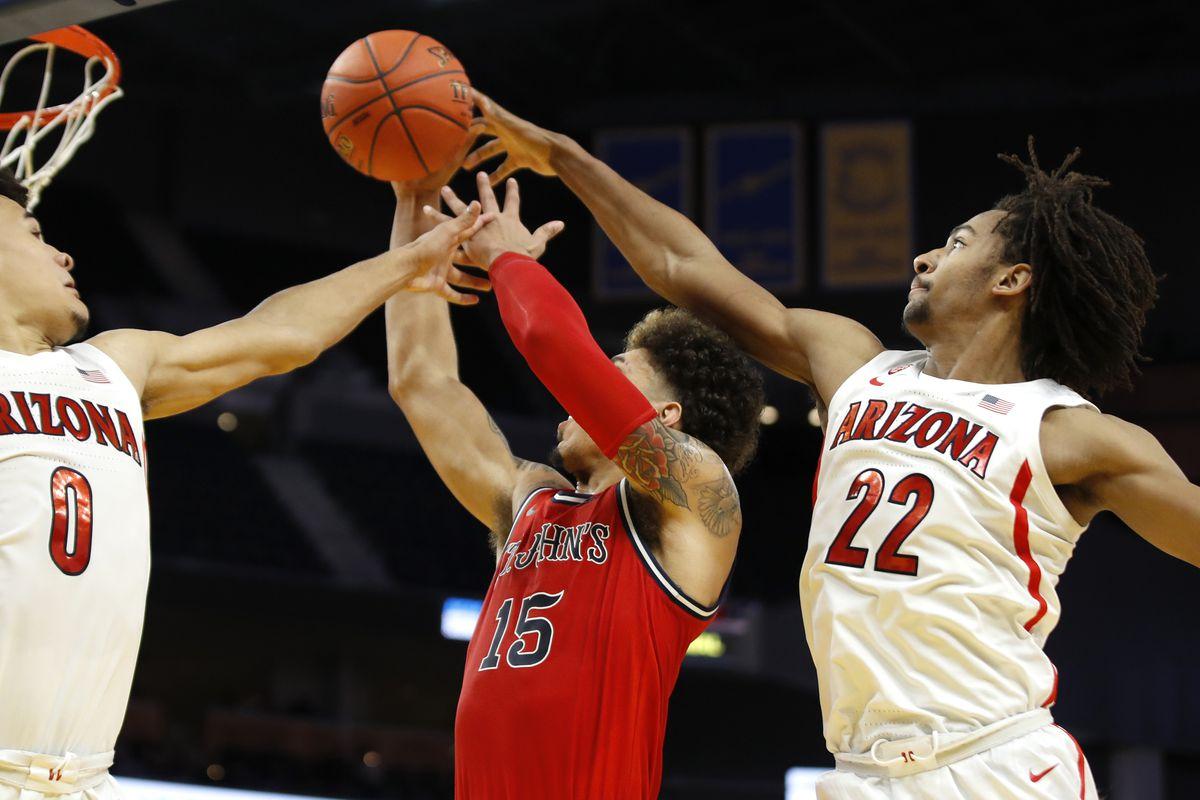 NCAA Basketball: St. John at Arizona