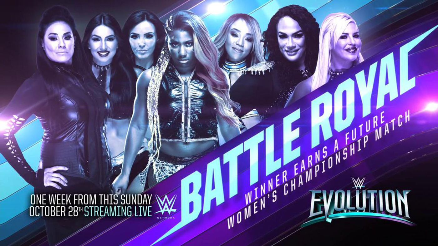 Image result for WWE Evolution Battle Royal