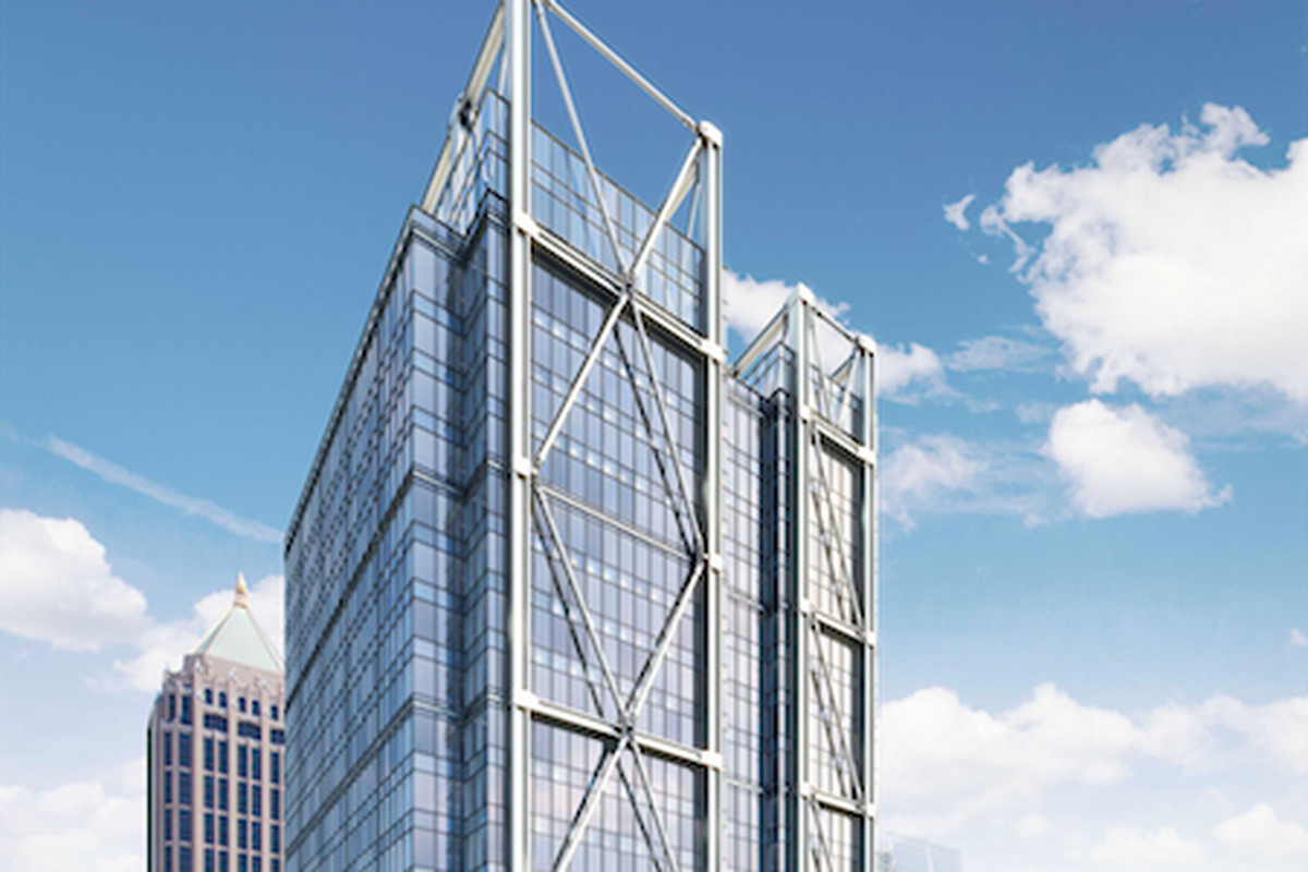 Block-swallowing 1105 West Peachtree venture has been in the works since  2016