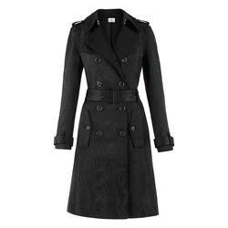 Trench Coat in Black Jacquard, $89.99 (Available on Net-A-Porter)