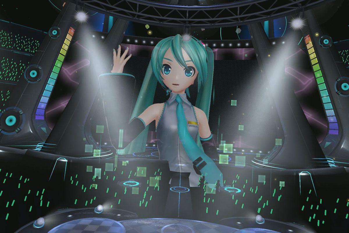 How Sega Brought Virtual Pop Star Hatsune Miku To Playstation Vr
