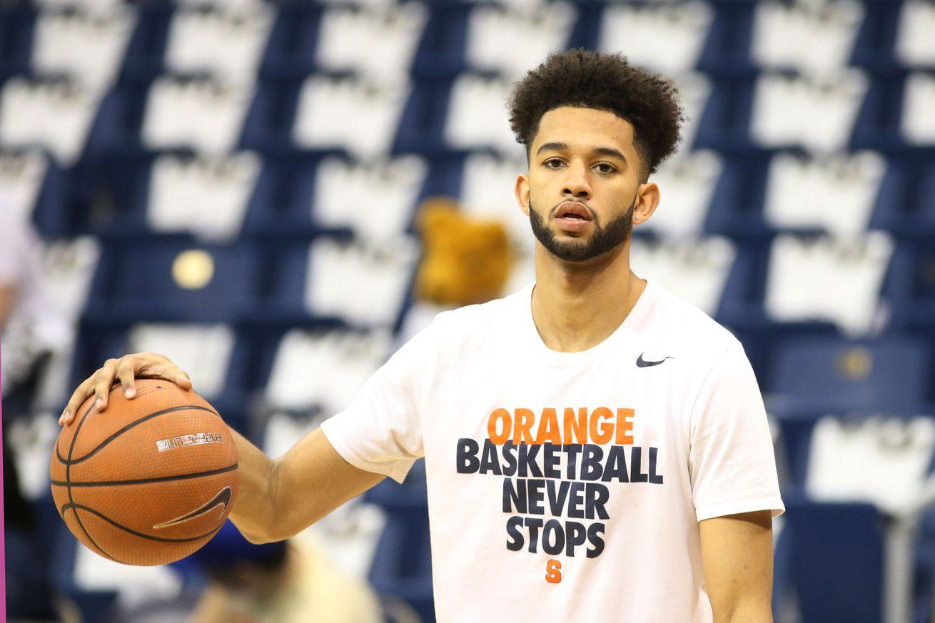 Syracuse Freshman Howard Washington Is Out For The Season
