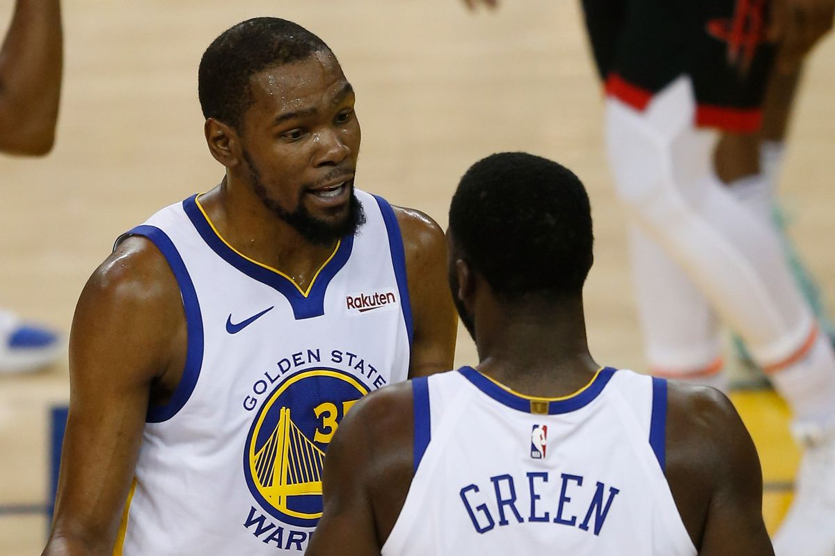 Draymond Green and Terry Rozier say they had no problems with Kevin Durant and Kyrie Irving