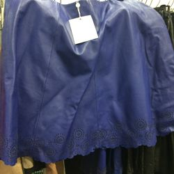 Joie leather skirt, $200