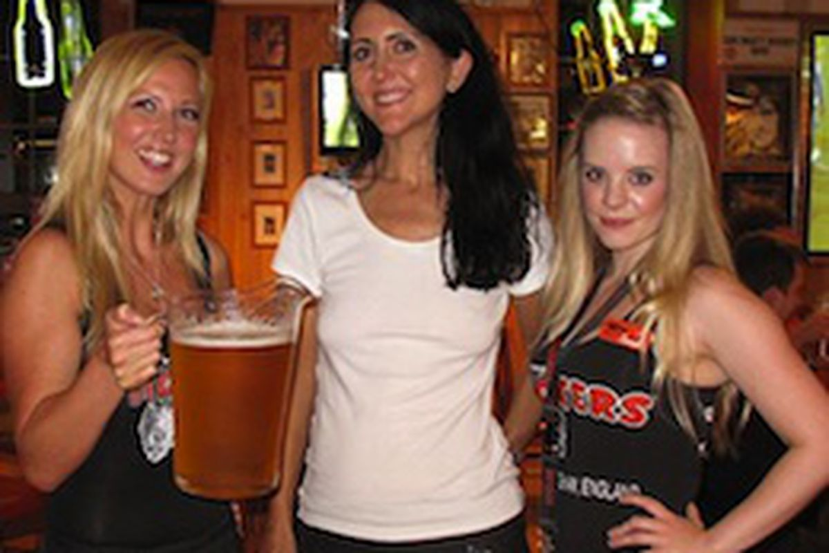Busty britain hooters
