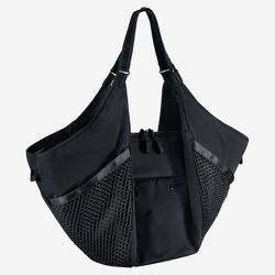 """<a href=""""http://store.nike.com/us/en_us/pd/victory-gym-tote-bag/pid-1032528/pgid-845140"""">Nike Victory Gym Tote bag</a>, $100. """"This gym bag allows you to thread your yoga mat through a top compartment for easy carrying. We love to cross train with yoga an"""