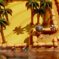 Animal Village and Yarna Desert Secret Seashell locations.