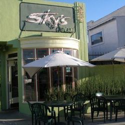 """Start your day with Mexican-meets-Soul grub at <a href=""""http://www.skysgourmettacos.com/"""">Sky's Gourmet Tacos</a> (5408 W. Pico Blvd). A fave among herbivores for its veggie-friendly options, the <i>Great Food Truck Race</i> <a href=""""http://www.foodnetwor"""