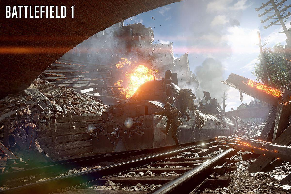 Battlefield 1 train screenshot 1920