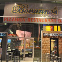 Bonanno's New York Pizzeria has opened at Harmon Corner.