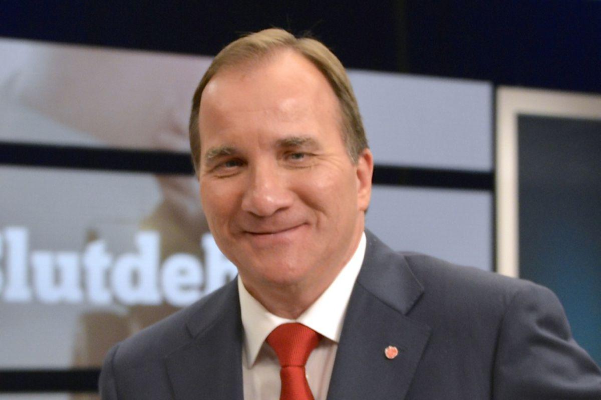 Swedish Social Democratic leader Stefan Löfven