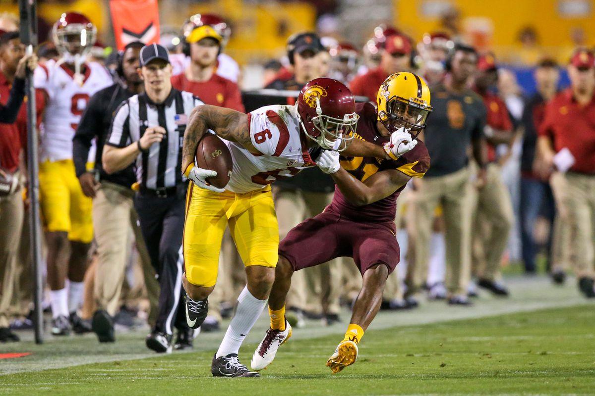 COLLEGE FOOTBALL: OCT 28 USC at Arizona State