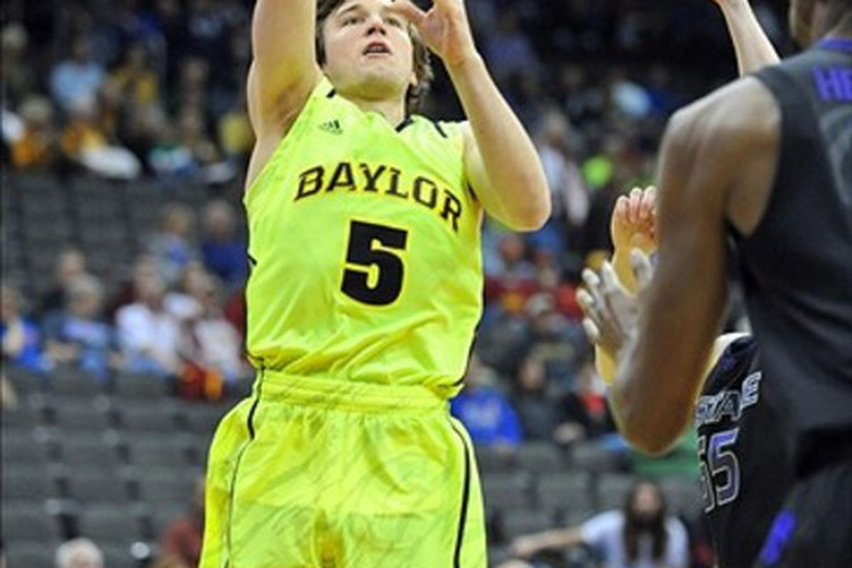 Baylor Bears guard Brady Heslip was on fire in a 3rd round win vs. Colorado. Heslip rained in nine 3-point shots to lead the Bears to the Sweet 16.