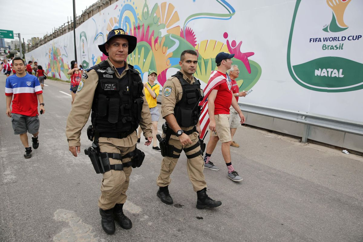 Probably not the image Brazil wanted the world to take from all this