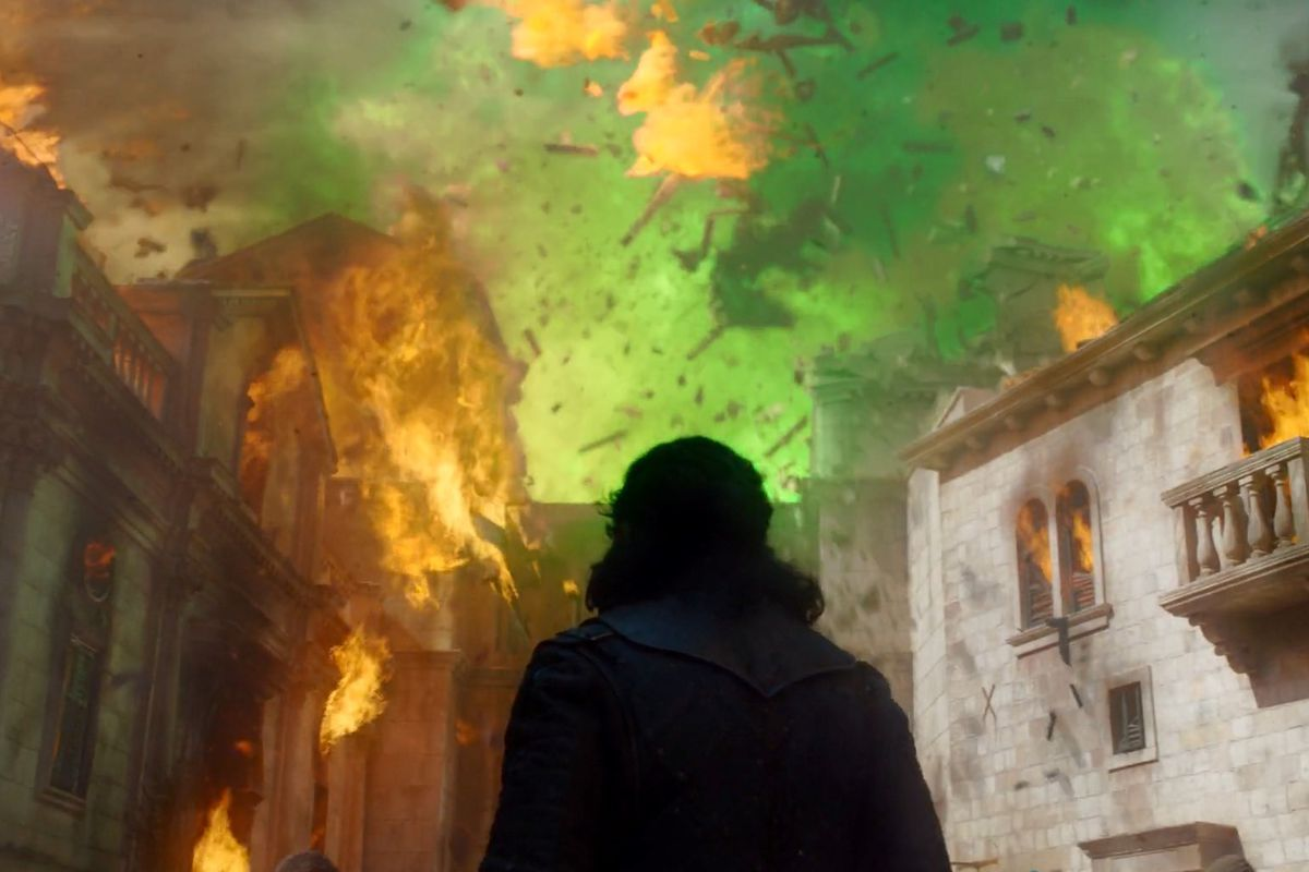 Game of Thrones episode 5: green fire in King's Landing