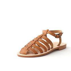 "La Botte Gardiane <b>fisherman</b> leather sandal, $150 at <a href=""http://www.stevenalan.com/FISHERMAN-LEATHER-SANDAL/VENSP13_NA_SP13-FISHERMAN,default,pd.html?dwvar_VENSP13__NA__SP13-FISHERMAN_color=NATURAL#cgid=womens-shoes-and-accessories-shoes&view=a"