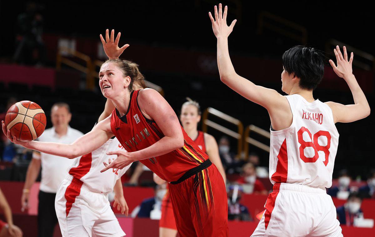 Japan v Belgium Women's Basketball - Olympics: Day 12