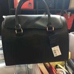 Large leather bag, $75