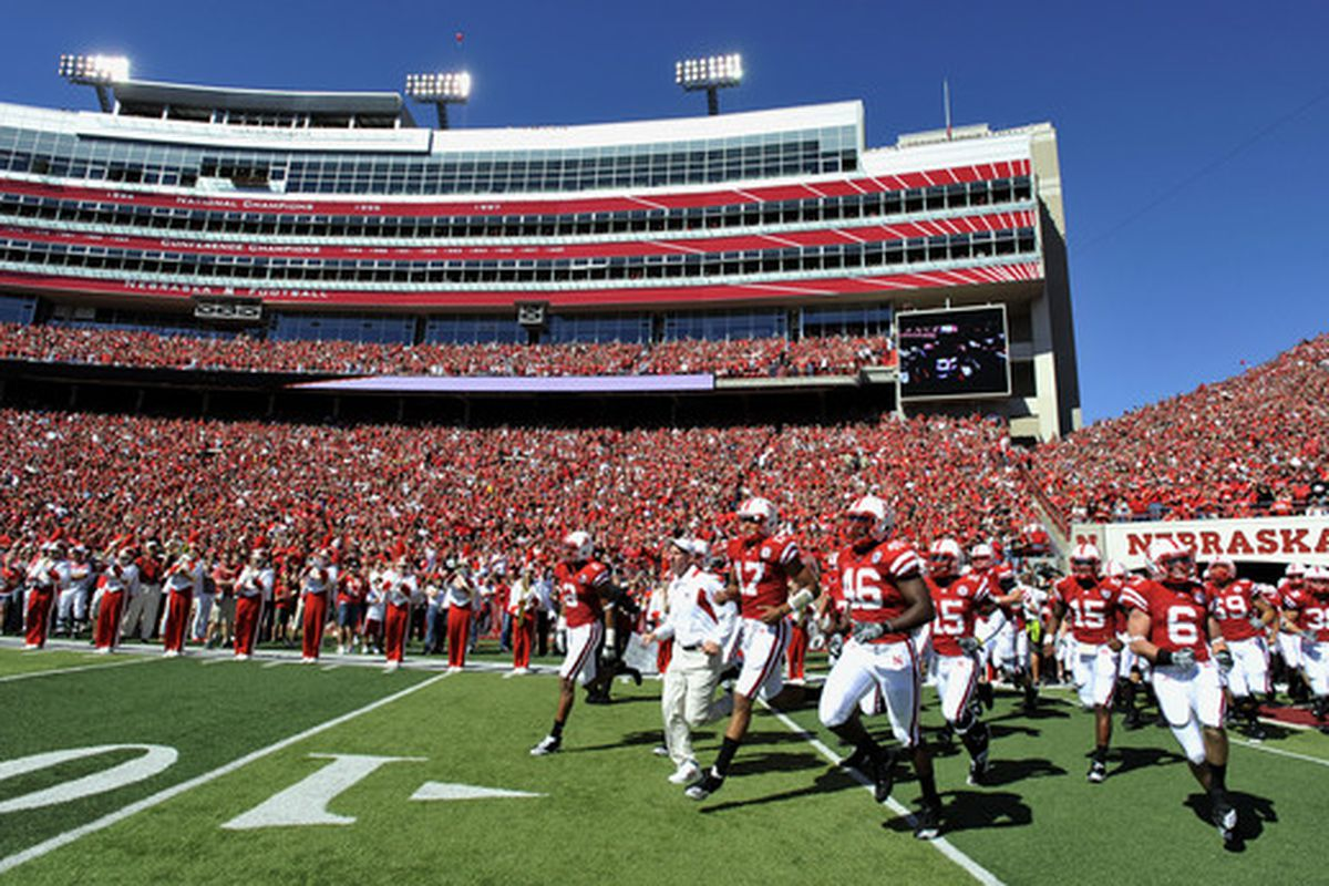 The Cornhuskers will play their first Big Ten game Saturday in Madison.