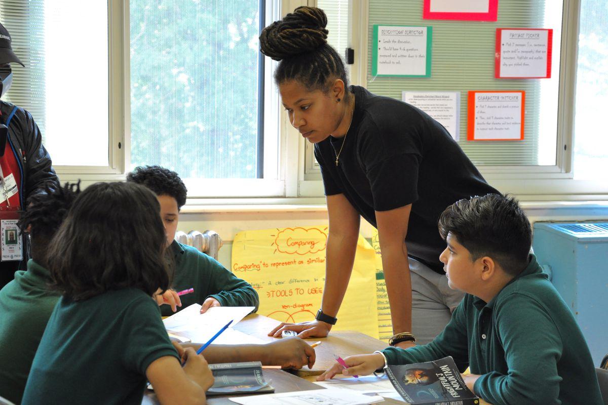 Tamara Leveridge Newark Teacher of the Year 2019