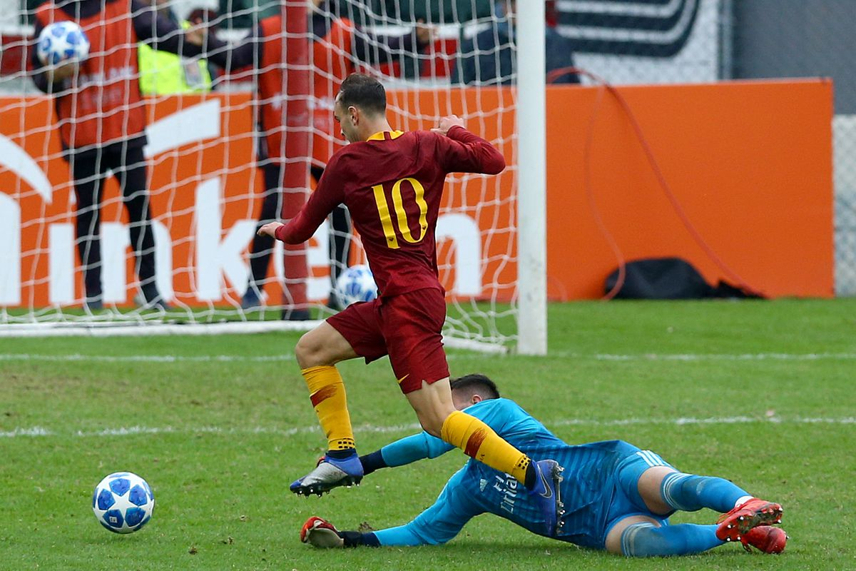 AS Roma - FC Real Madrid: UEFA Youth League Group G