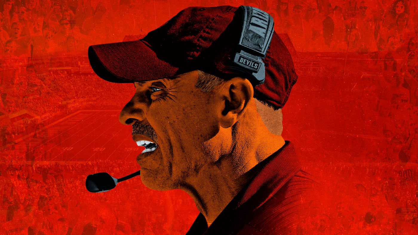 Arizona State's Herm Edwards Is Playing to Win More Than the Game