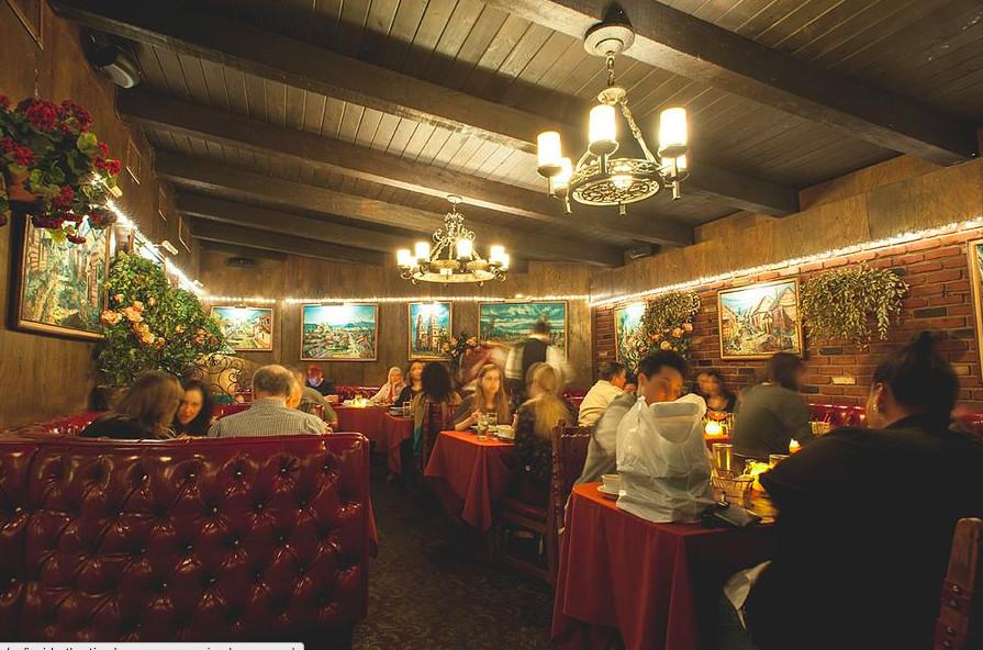 Casa Vega dining room