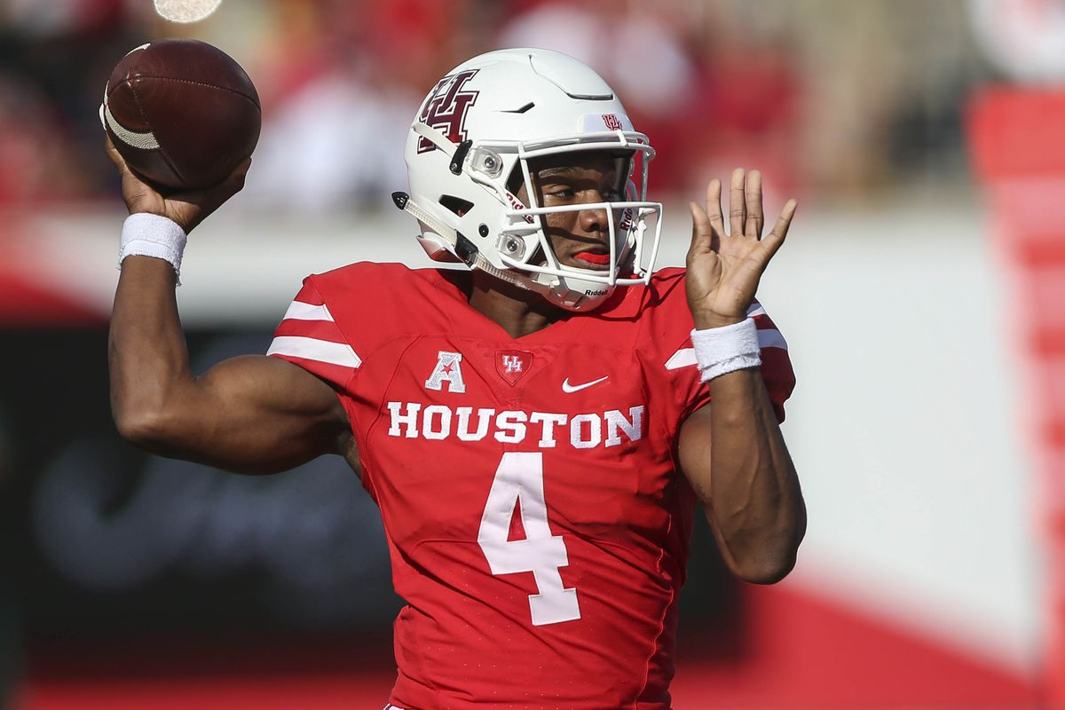 NCAA Football: South Florida at Houston