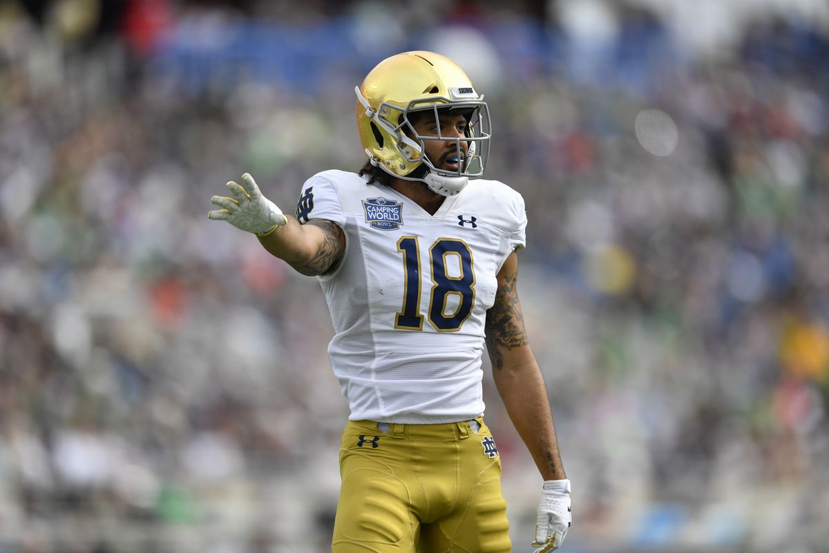 COLLEGE FOOTBALL: DEC 28 Camping World Bowl - Notre Dame v Iowa State