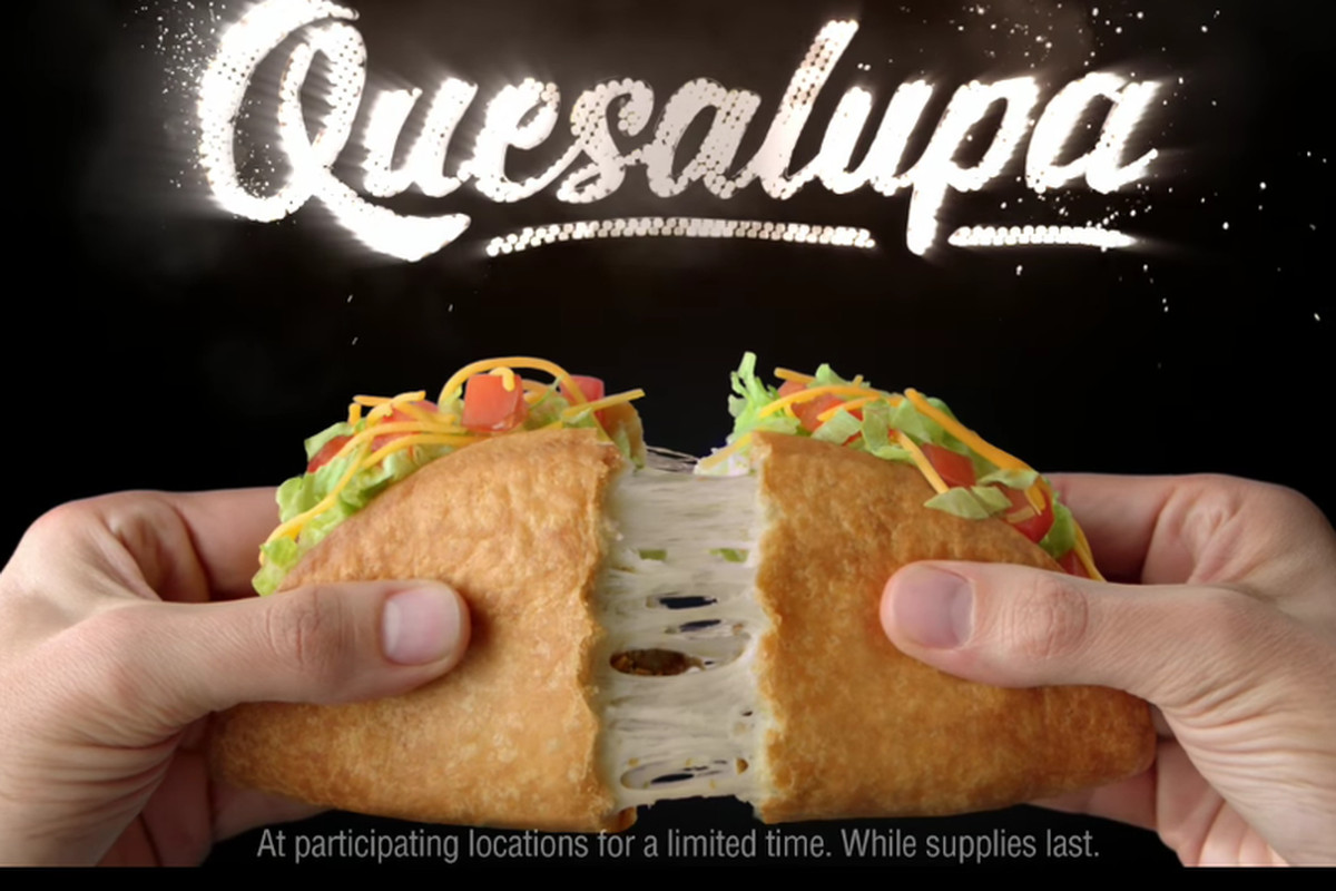 Taco Bell's quesalupa ad