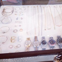 Delicate jewelry options include pieces by Jennifer Meyer, Willow Roe and Ashley Pittman.