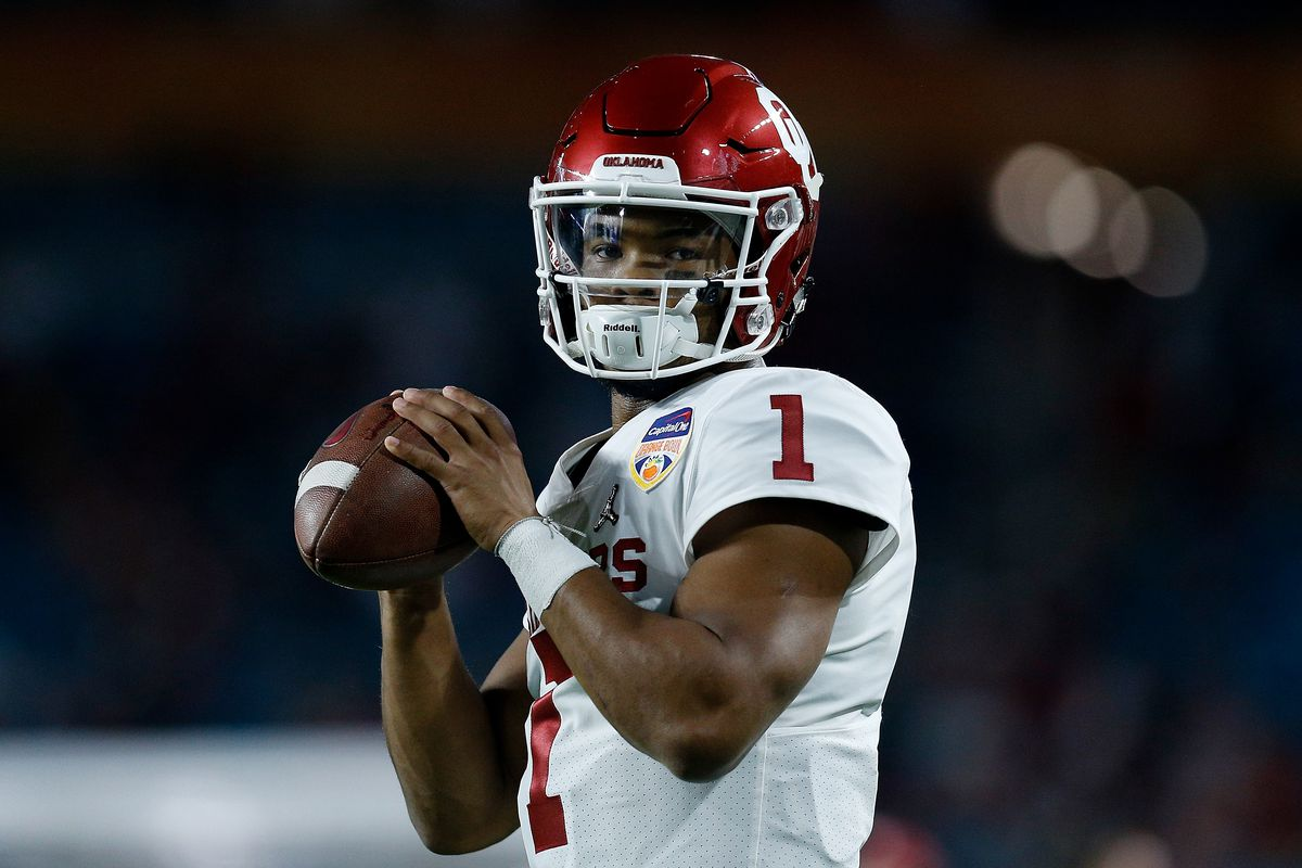 huge selection of 70be0 c6e2a Oklahoma Football: Kyler Murray has declared for the NFL ...