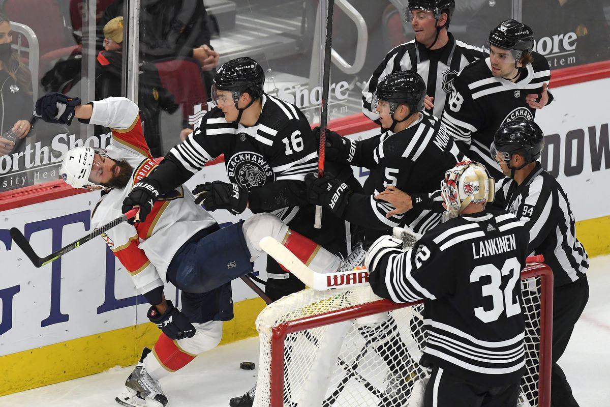 NHL: APR 29 Panthers at Blackhawks