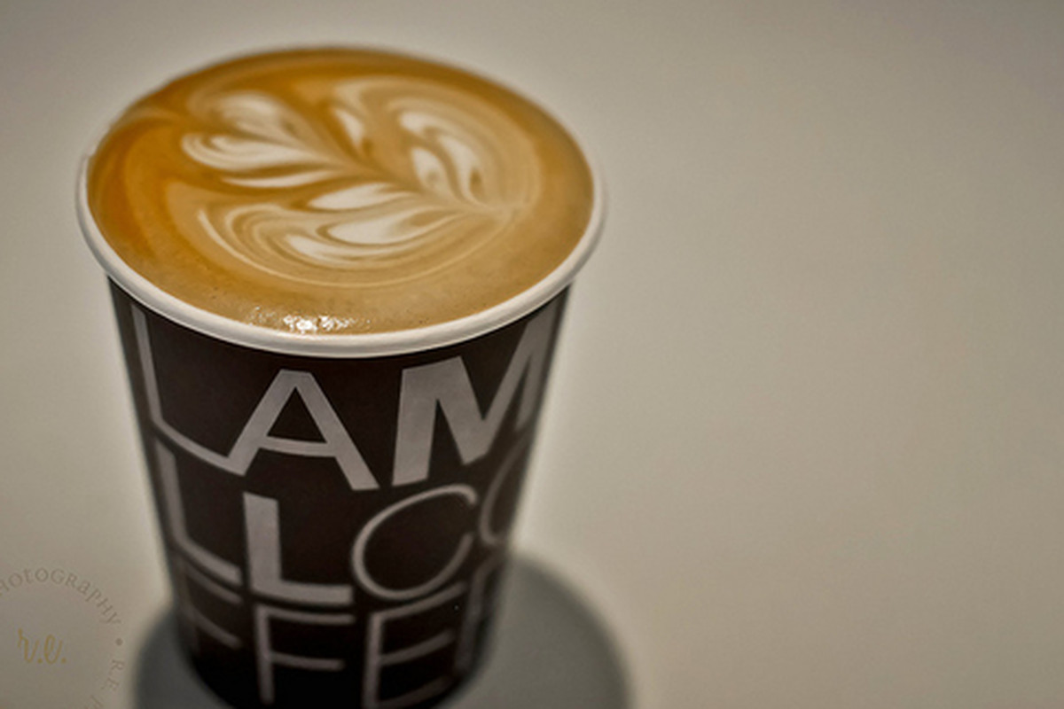 LAMILL coffee served at Cafe Dulce, Downotwn.