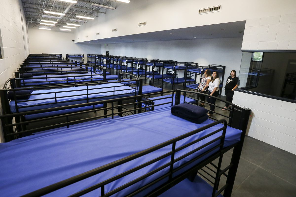 Utah's 2nd new homeless center opens doors to public