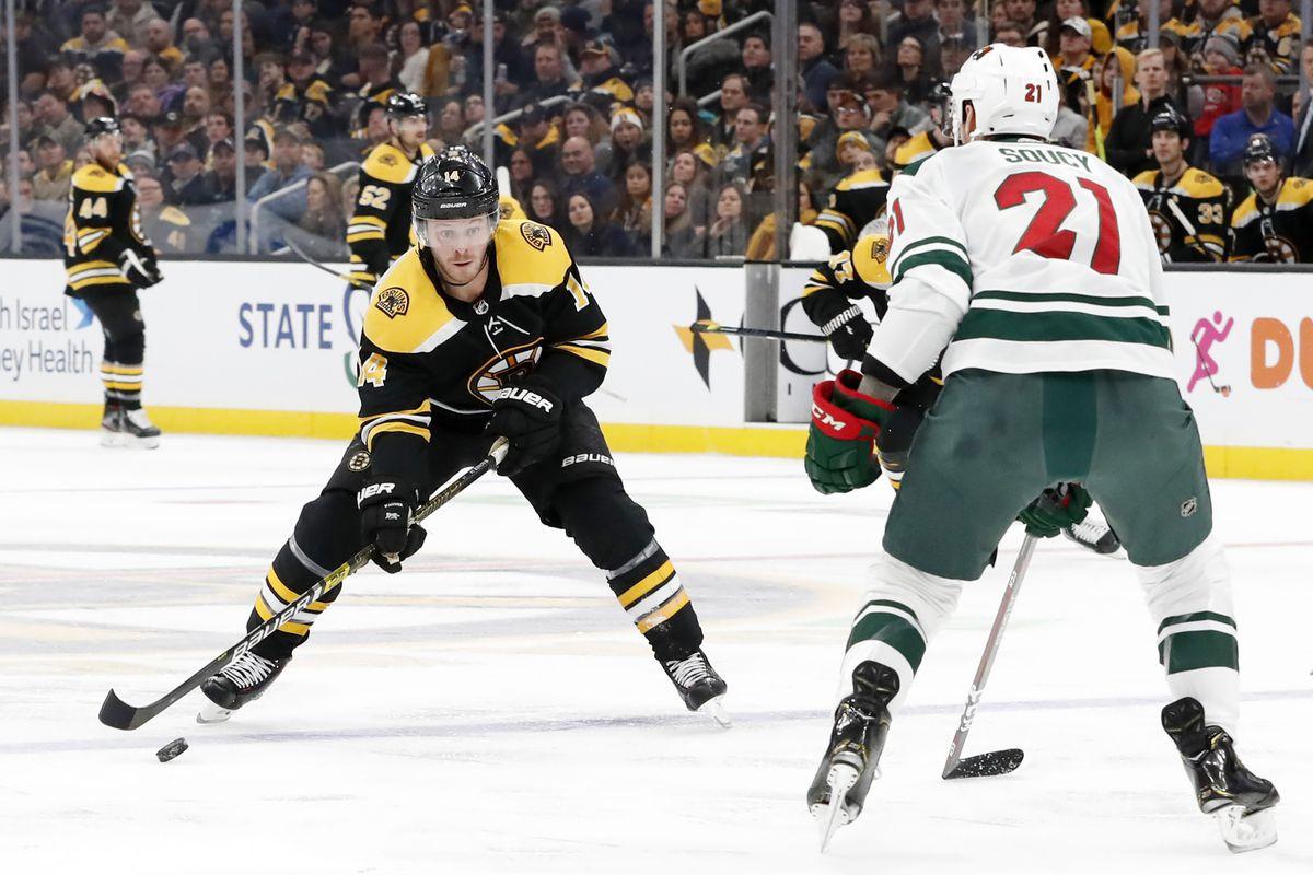 NHL: NOV 23 Wild at Bruins