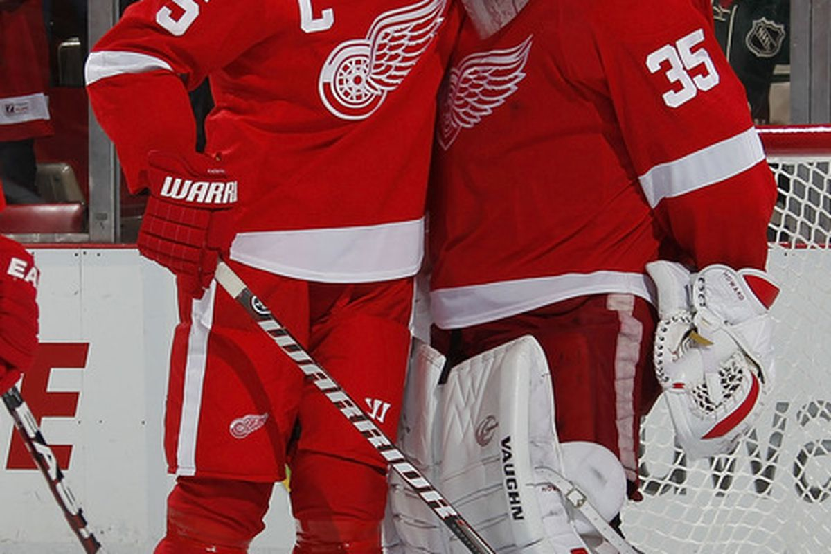 Jimmy, if it makes you feel better, my teammates screwed up my stats last year, and I still won the Norris. Of course, I'm Nicklas Fucking Lidstrom, but you'll be ok.