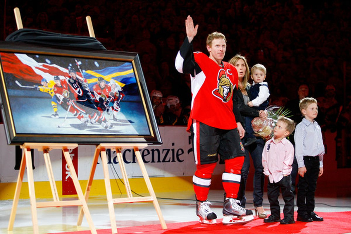 I love you Alfie! (Photo by Phillip MacCallum/Getty Images)