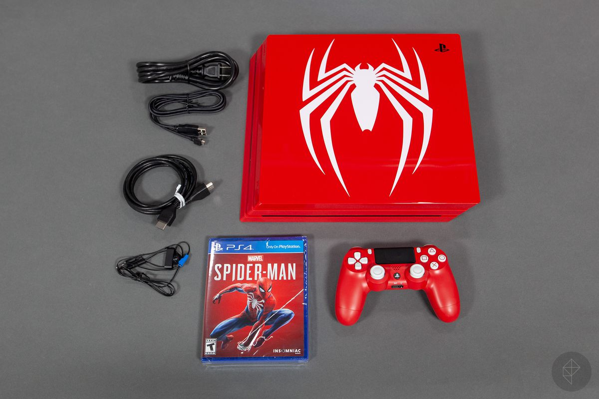 playstation 4 pro spiderman bundle