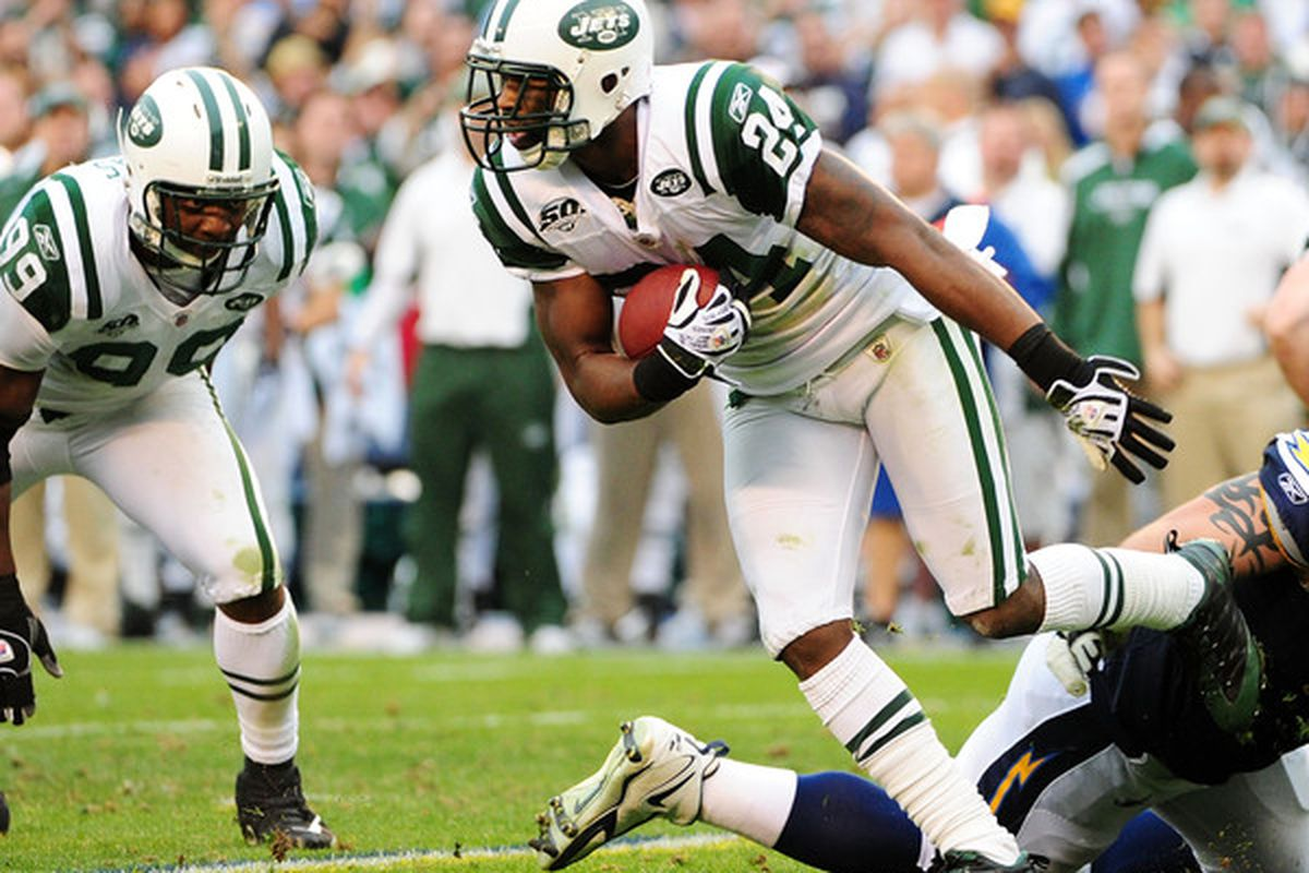 Sounds as if Revis Island will be open for business (Photo by Robert Laberge/Getty Images)
