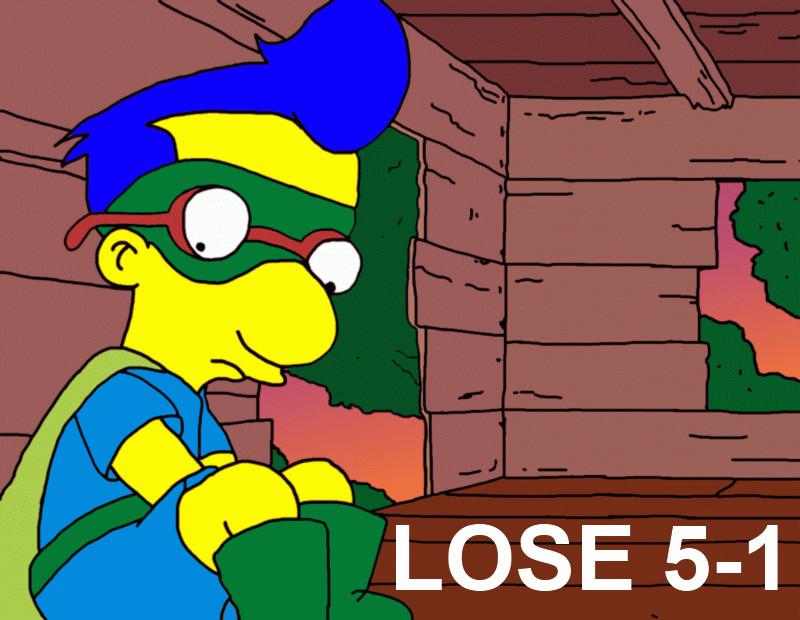 LOSE, 5-1