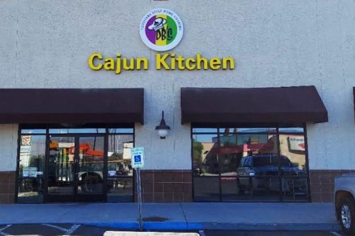 The exterior of DB's Cajun Kitchen, debuting in October in the northwest.