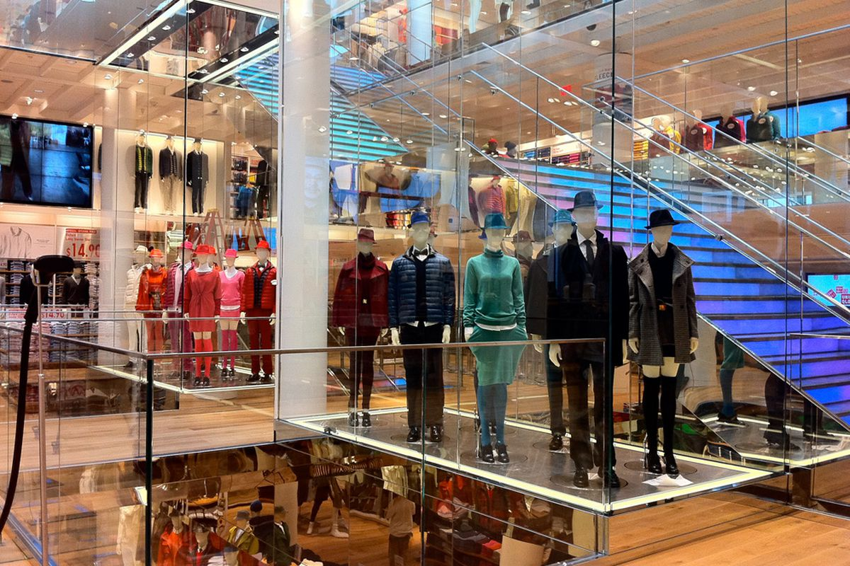 """Uniqlo SF. Image via <a href=""""http://sf.curbed.com/archives/2012/10/03/take_a_look_at_the_west_coasts_first_uniqlo_store_opening_this_friday.php"""">Curbed SF</a>."""