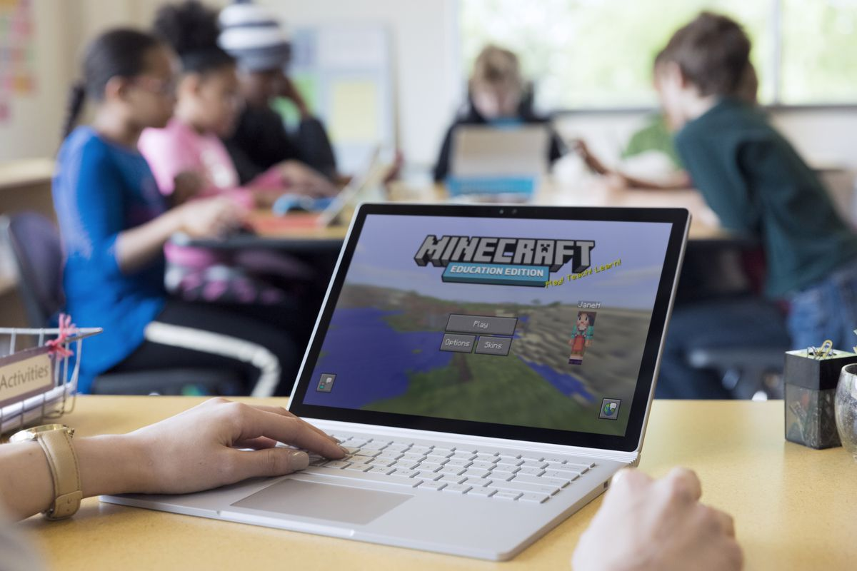microsoft launches minecraft education edition for schools the verge