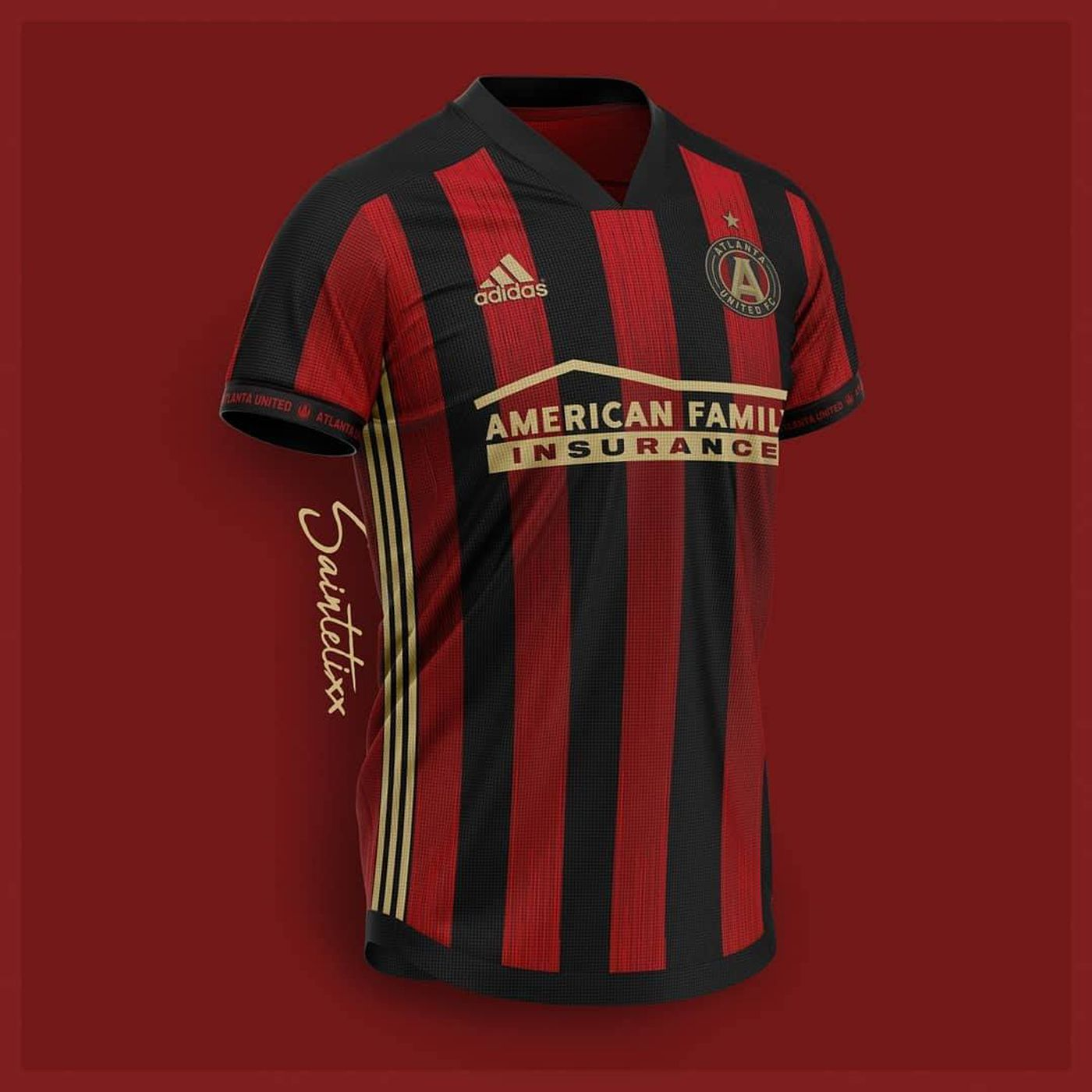 Five of the best Atlanta United home kit design concepts we ve seen. New ... 32fc57631